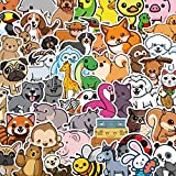 100pcs Cute Animal Stickers for Water Bottle,Kawaii Animal Gifts for Girls Teens Kids Adults,Vinyl Waterproof Stickers for Laptop Gift Box Scrapbook Ipad Diary Phone