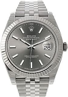 New 2017 Rolex Datejust II Steel Dark Rhodium Sticks Jubilee 41mm Watch 126334