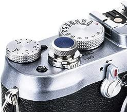 JJC Compatible Soft Shutter Release Button Cap for Fuji Fujifilm X-T30 XT30 X-T3 XT3 X100F X-Pro2 X-Pro1 X-T2 X-E3 X-E2S X-T20 X-T10 X100T X100S for Sony RX10 IV III II , RX1RII RX1R RX1 / GR Blue