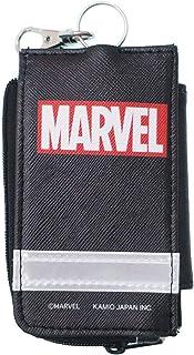 MARVEL[キッズ鍵カバーケース]リール付きランドセルキーケース/BOXロゴ マーベル