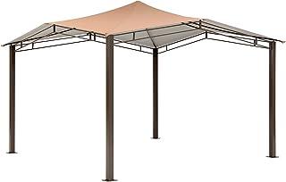 ShelterLogic Canopy Series Sequoia 12 x 12-Foot Easy Assembly Seasonal Shade UV Protection Outdoor Gazebo, 12 x 12 x 9'