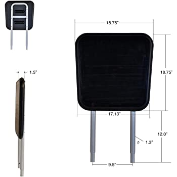 Squat Stand - Extra Large and Extended Long Design for Total Trainer and Other Inclined Home Fitness Gym Equipments
