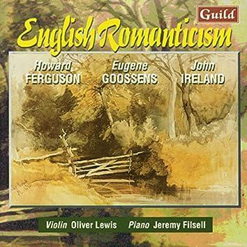 Ferguson: Violin Sonata No. 2 - Goossens: Violin Sonata No. 1 - Ireland: Violin Sonata No. 2