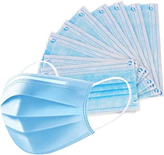 eZthings Professional Crafts Disposable Face Masks for Painting, Cutting, or Sewing (50 Pack)