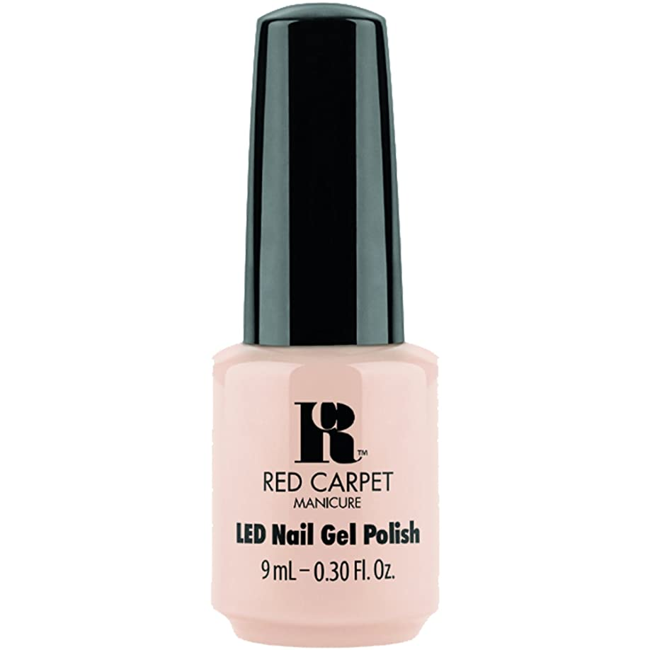 クラックレスリング精通したRed Carpet Manicure - LED Nail Gel Polish - Oh So Posh - 0.3oz / 9ml