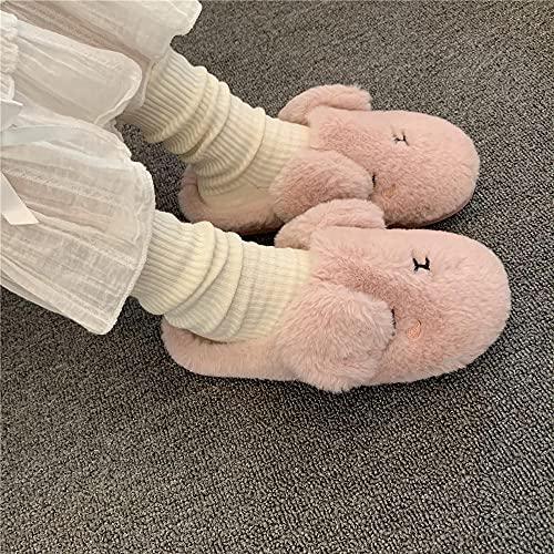 Zapatillas De Casa para Mujer Verano Abiertas,Linda NiñA De Dibujos Animados, Zapatillas...