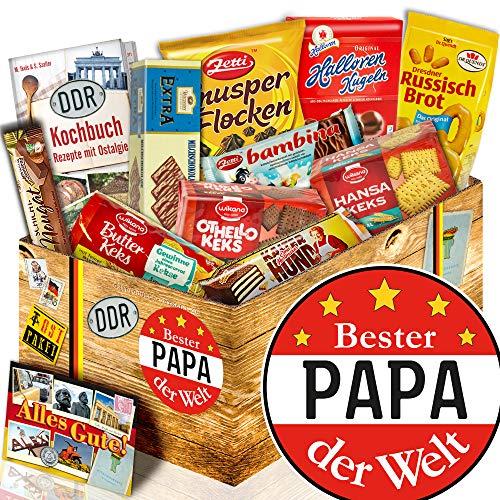 Geschenke Geburtstag / Ost Box / Geschenkbox mit Keksen Bester Papa der Welt