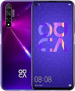 "Huawei Nova 5T (128GB, 8GB) 6.26"" LCD, Kirin 980, 48MP Quad Camera, 22.5W Fast Charge, Dual SIM GSM Unlocked Global 4G LTE..."