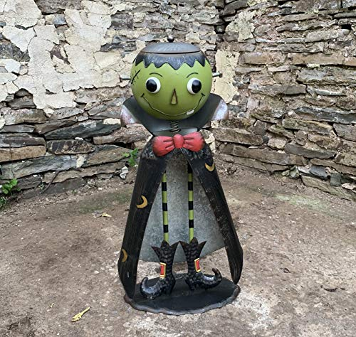 Zaer Ltd. Big Head Halloween Candy Holder Statues (Opening Head) (Frankenstein)