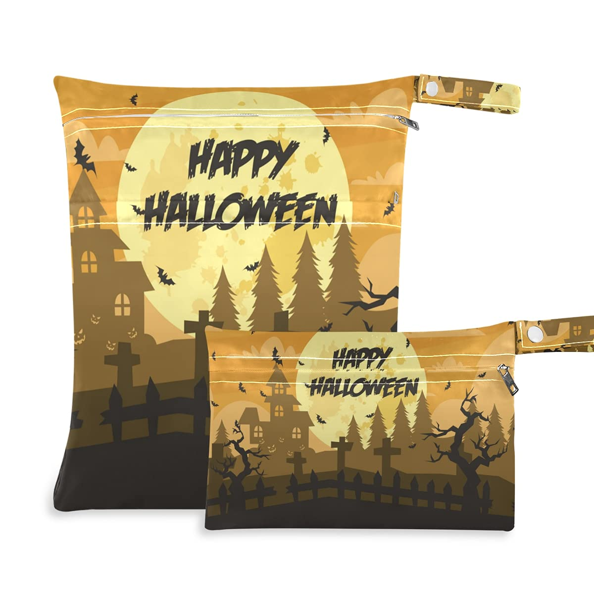 Creepy Halloween Wet Dry Max 69% OFF Soldering Bag Swimsui Reusable for Diaper