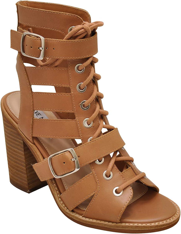 Steve Madden Cecilia Women's Open Toe Strappy Block Heel Sandals