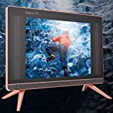 Mini LCD TV, 1366x768 HD Portable TV, Mini Television, Dustproof and Scratch Proof for Home, Office,(U.S. regulations)