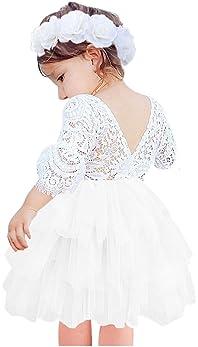 Elegant Light Pink Bow Peony Flower Print Lace Baby Girl Petti Skirt 2-7Year