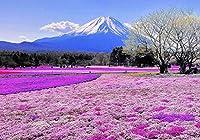 GooEoo 10x7ft 雪山背景紫色の花の海の写真の背景テーマ誕生日パーティーバナー壁紙スタジオ小道具家族のパーティー誕生日の背景ベビーシャワービニール素材