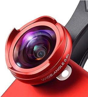 L.J.JZDY telefonlins mobiltelefon lins ny icke-förvrängning ingen mörk vinkel vidvinkel macro två-i-ett set universal 4K H...