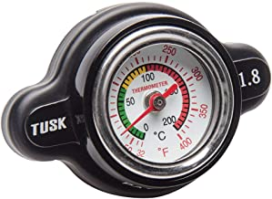 Tusk High Pressure Radiator Cap with Temperature Gauge 1.8 Bar - Fits: Polaris SCRAMBLER 400 2x4 2001-2002