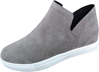 ✦◆HebeTop✦◆ Women Fashion Sneakers Flats Wedges Casual Slip-on Sports Shoes