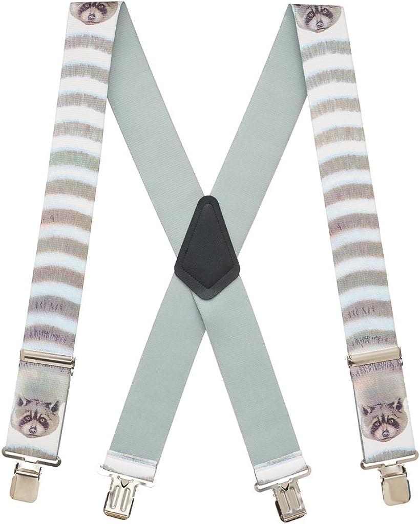 SuspenderStore Men's Raccoon Suspenders
