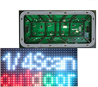 P10 Led Matrix Outdoor Waterproof Screen 1/4scan SMD3535 3in1 RGB Full Color LED Display Module Panel Board 320160mm 3216 Pixels (RGB-Full Color, P10-320160mm)