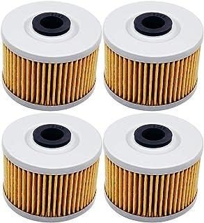 4 Pack Yerbay Motorcycle Oil Filter for Kawasaki KLX140 KLX140L KLX 140 L 2008-2016 / KLX250R KLX250 R KLX 250R 1991-1997