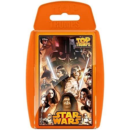 Star Wars 30 Classic Characters Top Trumps Family Card Game