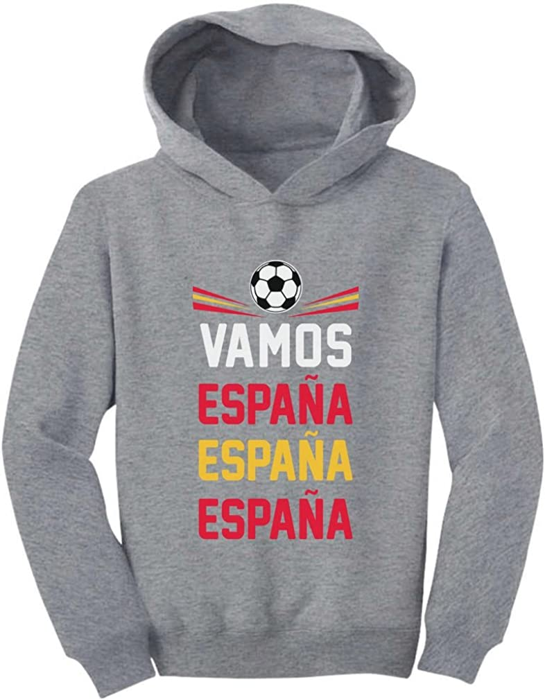 Tstars Vamos Espana Come On Spain Soccer Fans Toddler Hoodie