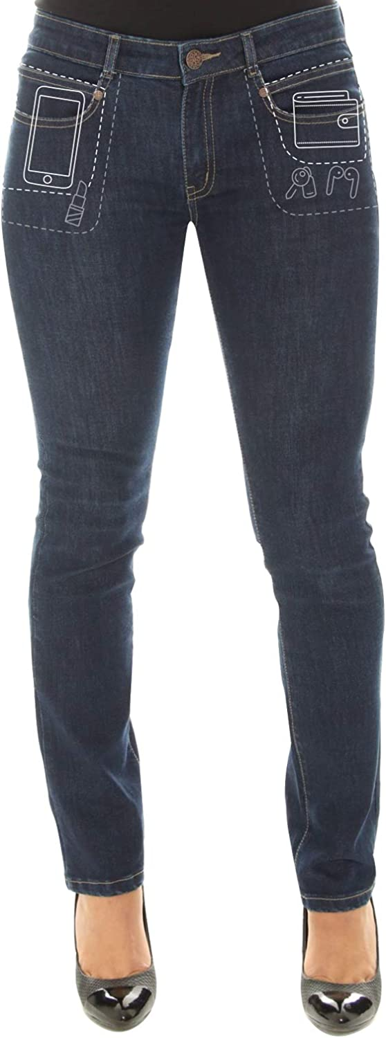 Radian Omaha Mall Jeans Straight Leg Limited price - Deep Pocket Mid Rise D Stretch
