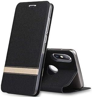 SENDIAYR telefonväska pu läder inre mjukt silikon TPU fullkant skyddaflipskydd med kickstand   Flipfodral, för Xiaomi mi8