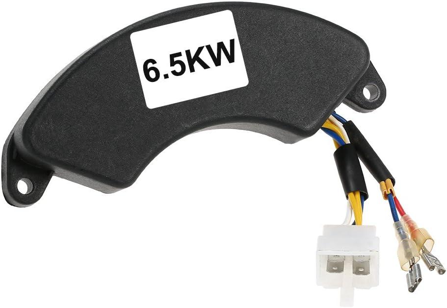KKmoon AVR Single-phase Automatic Voltage Regulator Rectifier 7//7.5// 8KW Generator