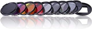 QKOO Camera Lens Filter Kit for GoPro Hero 7 Black/(2018)/Hero 6 Black/5 Black - Professional 52mm Lens Filter Set (CPL + ...