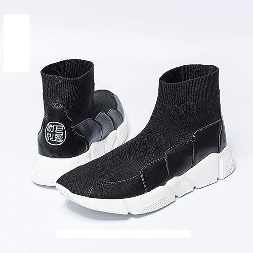 XINGMU Chaussures d'hommes Chaussures De Sport De Loisirs élastique Perméable à L'Bottes Courtes Style Style Joker