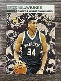 2013 Giannis Antetokounmpo RC Rookie Card Fierce Skull Milwaukee Bucks. rookie card picture