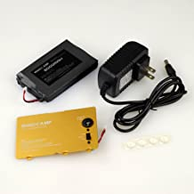WINDCAMP 3000mah Polymer Lithium Battery Charger Battery Cover for Yaesu Ft-817& ft-818 Gold