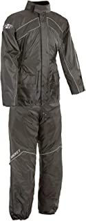 Joe Rocket 1010-1005 RS-2 Men's Motorcycle Rain Suit (Black, X-Large)