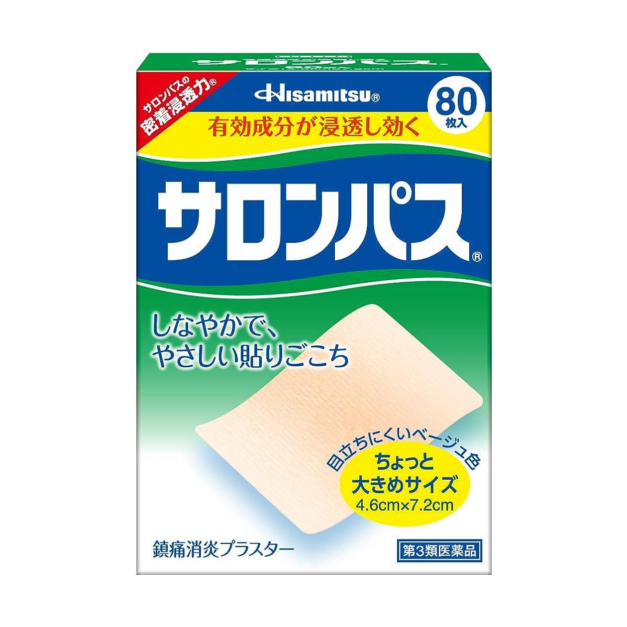 間違い関係するコンパイル【第3類医薬品】サロンパス 80枚入