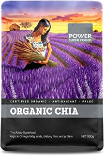 Power Superfoods Organic Chia Seeds 950 g