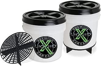 Liquid X Dual Bucket Wash System