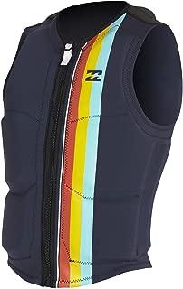 Billabong Dbah Watersports Waterski Jetski Wakeboarding Safety Impact Vest - Top Slate - Unisex - Wakeboarding Vest Top