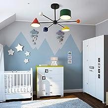 30 W Color Blocks LED Plafondlamp Kroonluchter Macaron Creatieve Persoonlijkheid Nordic Moderne Minimalistische Slaapkamer...