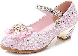 LOBTY Sandales Ceremonie Fille, Chaussures Talon E