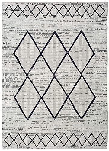 UNIVERSAL Alfombra Indoor/Outdoor Elba Étnica, 100% Polipropileno, 120 x 170 cm (65230)