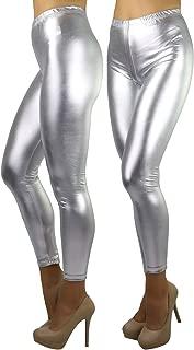 Best silver lycra leggings Reviews
