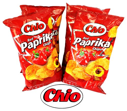 Chio Chips Red Paprika 4Pack | Dipworld Edition
