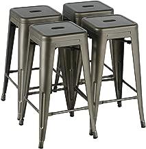 all metal bar stools
