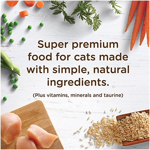 Rachael Ray Nutrish Super Premium Dry Cat Food with Real Meat & Brown Rice 5