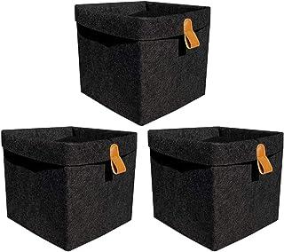 Felt Storage Box Storage Basket Makeup Bag Beauty Storage Container Box AS