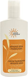 Earth Science Almond-Aloe Fragrance Free Facial Moisturizer with jojoba, shea & hyaluronic acid, 5 oz.