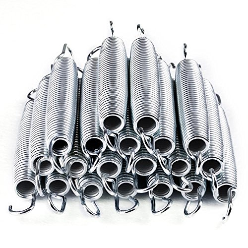 AW 20pcs 7' Inch Galvanized Steel Trampoline Springs Galvanized Replacement Set