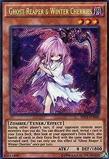Yu-Gi-Oh! Ghost Reaper & Winter Cherries (SHVI-EN040) - Shining Victories - Unlimited Edition - Secret Rare