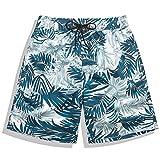 AleXanDer1 Shorts Hombre Pantalones cortos de tablero de hombres deportes corriendo fitness surfear trajes de baño a prueba de agua Pantalones cortos de playa a prueba de agua Pantalones cortos de nat